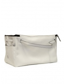 D'Ottavio E70 white leather duffle bag