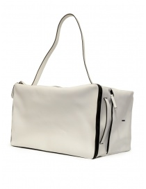 D'Ottavio E70 white leather duffle bag buy online price