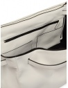 D'Ottavio E70 white leather duffle bag price E70VO101 shop online