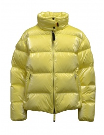 Womens jackets online: Parajumpers Pia acid green short down jacket