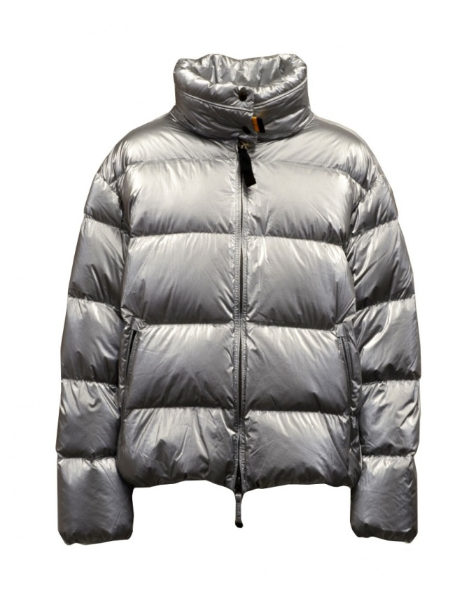 Parajumpers Pia silver short down jacket PWJCKLI34 PIA SILVER 595 womens jackets online shopping