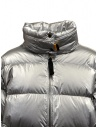 Parajumpers Pia silver short down jacket price PWJCKLI34 PIA SILVER 595 shop online