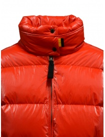 Parajumpers Pia tomato short down jacket womens jackets price