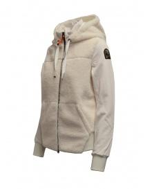 Parajumpers Moegi white plush hoodie price