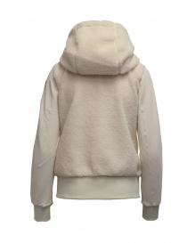 Parajumpers Moegi white plush hoodie