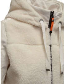 Parajumpers Moegi white plush hoodie womens jackets buy online