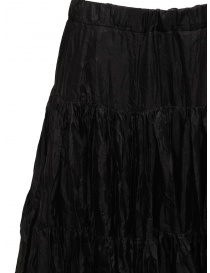 Casey Casey pleated knee-length skirt in black silk price