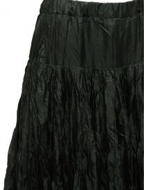 Casey Casey pleated knee length skirt in green silk price