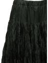 Casey Casey pleated knee length skirt in green silk 15FJ90 MOSS price
