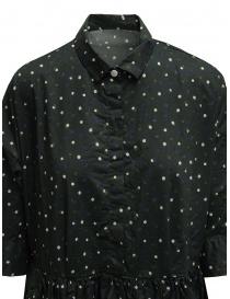 Casey Casey khaki green polka dot long shirt dress price