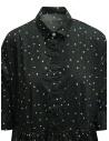 Casey Casey khaki green polka dot long shirt dress 15FR327 KAKI price