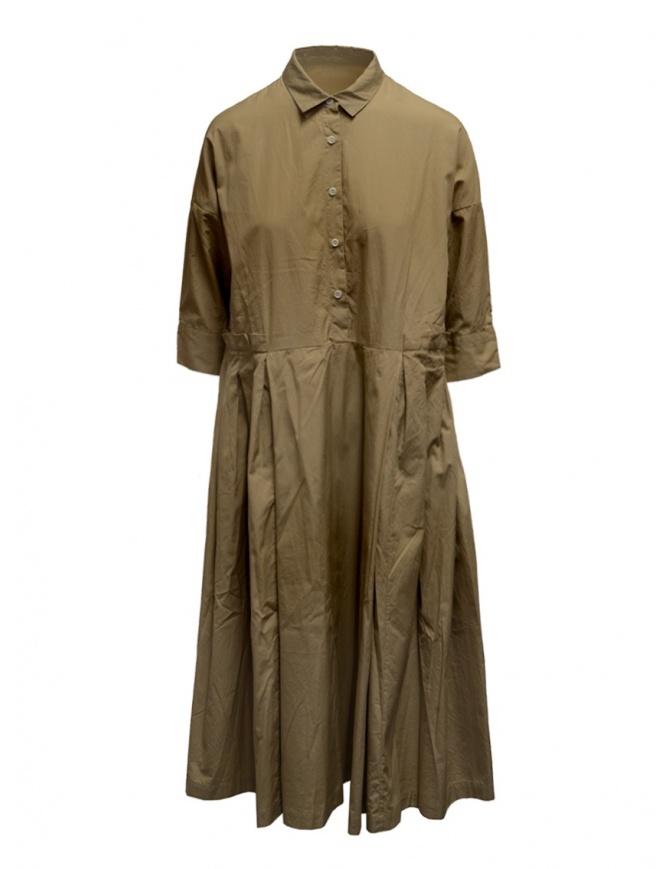 Casey Casey dress in beige cotton 15FR332 SAND womens dresses online shopping