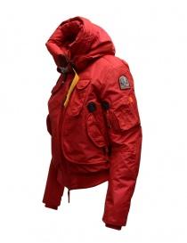 Parajumpers Gobi bomber rosso con cappuccio giubbini donna prezzo