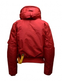 Parajumpers Gobi red hooded bomber jacket