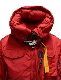 Parajumpers Gobi bomber rosso con cappuccio prezzo