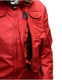 Parajumpers Gobi red hooded bomber jacket buy online price
