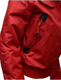 Parajumpers Gobi bomber rosso con cappuccio acquista online prezzo