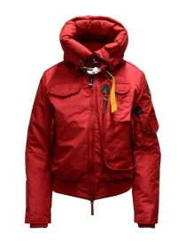 Parajumpers Gobi red hooded bomber jacket PWJCKMB31 GOBI SCARLET 723