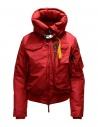 Parajumpers Gobi bomber rosso con cappuccio acquista online PWJCKMB31 GOBI SCARLET 723