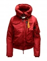 Parajumpers Gobi red hooded bomber jacket buy online PWJCKMB31 GOBI SCARLET 723