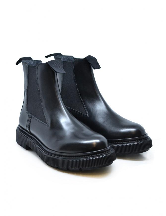 Adieu x Etudes polacchino nero in pelle TYPE 146 POLIDO BLACK calzature donna online shopping