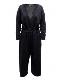 Abiti donna online: Hiromi Tsuyoshi tuta in lana e seta blu