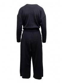 Hiromi Tsuyoshi blue wool and silk jumpsuit
