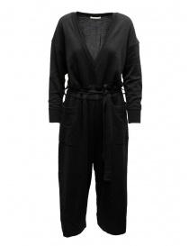 Hiromi Tsuyoshi tuta in lana e seta nera RM20-003 BLACK