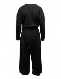 Hiromi Tsuyoshi tuta in lana e seta nera acquista online