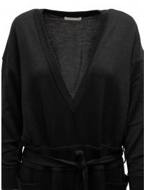Hiromi Tsuyoshi jumpsuit in black wool and silk price