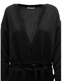 Hiromi Tsuyoshi tuta in lana e seta nera prezzo