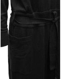Hiromi Tsuyoshi tuta in lana e seta nera abiti donna acquista online