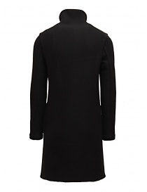 Label Under Construction reversible black coat