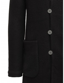 Label Under Construction reversible black coat price