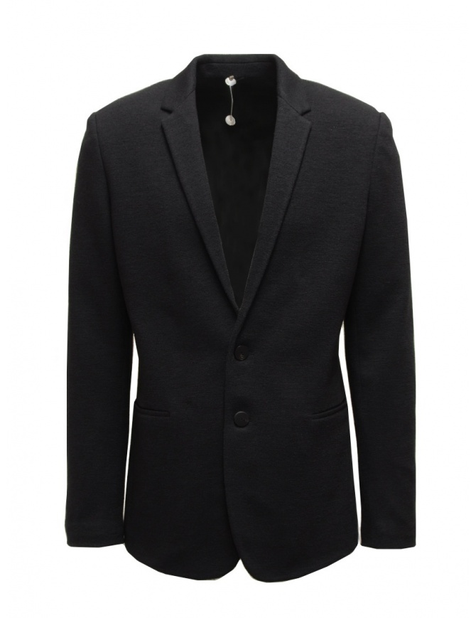 Label Under Construction blazer in black wool 36FMJC103 WS105B 36/9 SRL mens suit jackets online shopping