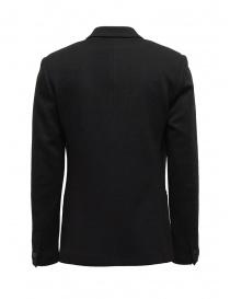 Label Under Construction blazer in maglia di lana nero