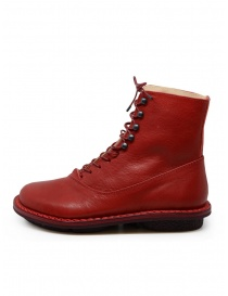 Trippen Mascha red ankle boots with hooks