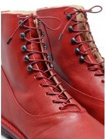 Trippen Mascha stivaletti rossi con ganci calzature donna acquista online