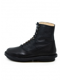 Trippen Mascha black leather lace-up boots
