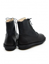 Trippen Mascha black leather lace-up boots price
