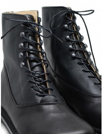 Trippen Mascha black leather lace-up boots womens shoes buy online