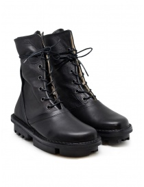 Womens shoes online: Trippen Average black calf leather boots