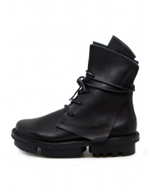 Trippen Rectangle black boots with Trace sole