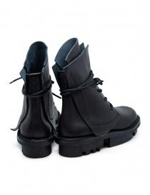 Trippen Rectangle stivali neri con suola Trace prezzo