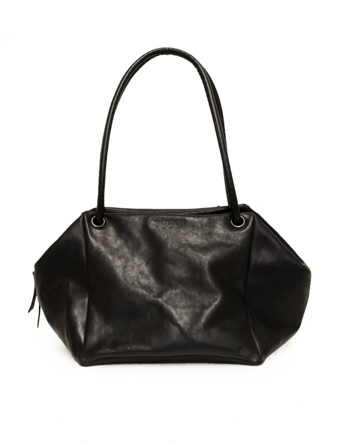 Trippen bag Alea in black calf leather backpack handbag ALEA BLK BLK bags online shopping