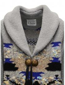 Coohem maxi geometric cardigan in grey price