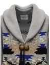 Coohem Maxi cardigan grigio con stampa geometrica 204-003 GREY prezzo