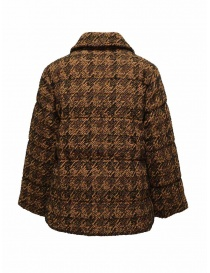 Coohem Brown tweed down blazer buy online