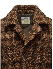 Coohem Giacca imbottita in tweed marrone prezzo