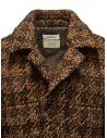 Coohem Giacca imbottita in tweed marrone 204-020 BROWN prezzo